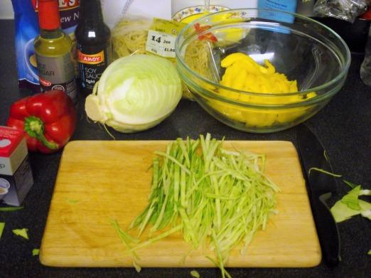 Sticky Chicken & Mango Slaw (5)